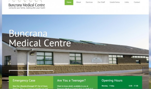 Buncrana home page