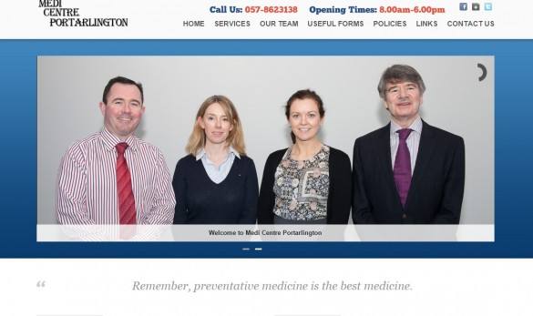medical websites ireland